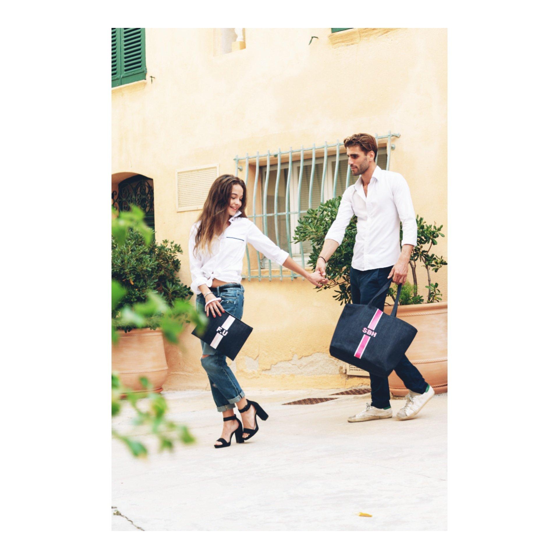 Initiale Original Photoshoot à Saint Tropez avec Maeva et Christopher