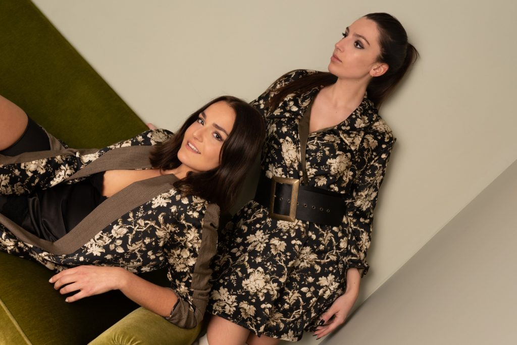 Heavenly photoshoot couture